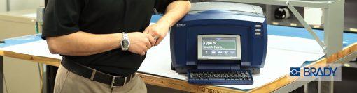 Brady laboratuvar etiketleri ve etiket yazıcıları